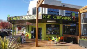 Lady Janes Ice cream parlour Rotorua
